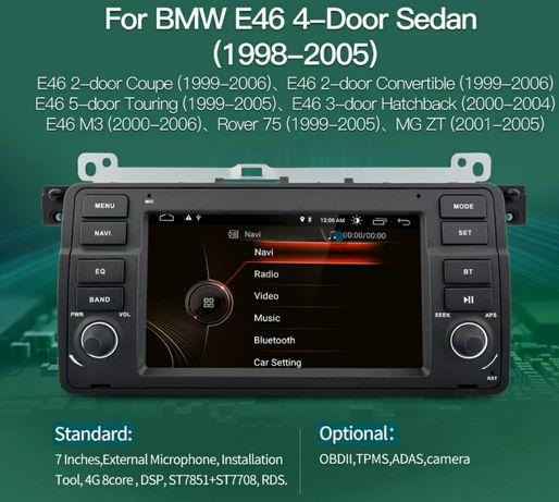 Мултимедия БМВ Е46 навигация BMW E46 GPS Navigation android 10 андроид