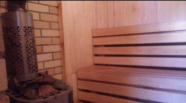 Новая баня на дровах (1500 тг/ч)