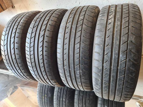 4 бр. летни гуми 225/60/17 Dunlop RSC DOT 1015 4-5 mm