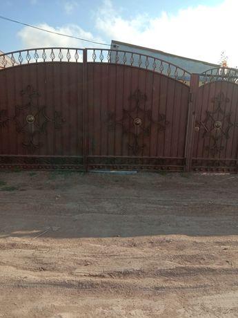 Продам ворота с калиткой
