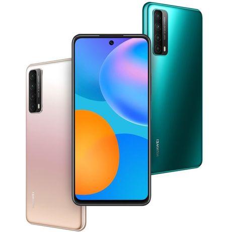New! Huawei P Smart 2021 4/128 gb Black Green. Доставка. Акция. Скидка