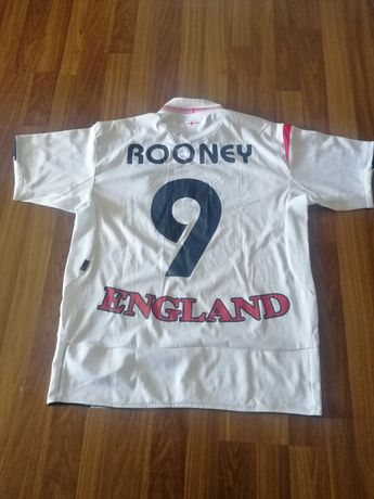 Tricou naționala Angliei nr. 9 Rooney