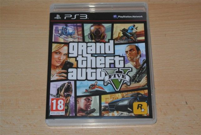 Gta 5 grand theft auto V ps3 vand/schimb cu fifa 19, minecraft,wwe2k17
