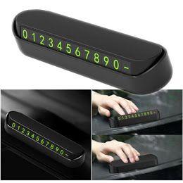 Suport Număr Telefon Parbriz/Numere Magnetice