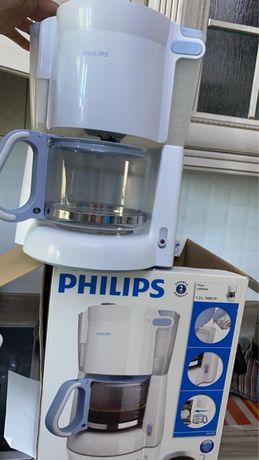 Кофеварка филипс абсолютно новый 1,3 л 1000 Ватт