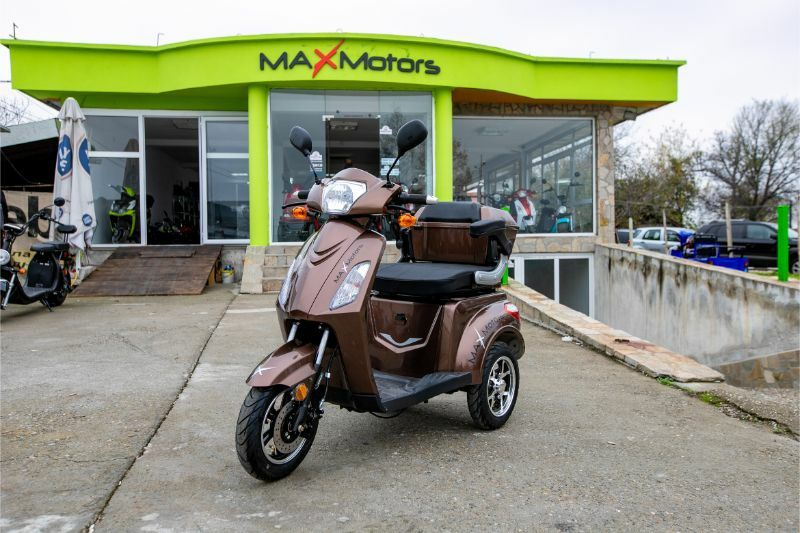 Електрическа Триколка 1500 W Max Motors Нови Модели Директен Внос