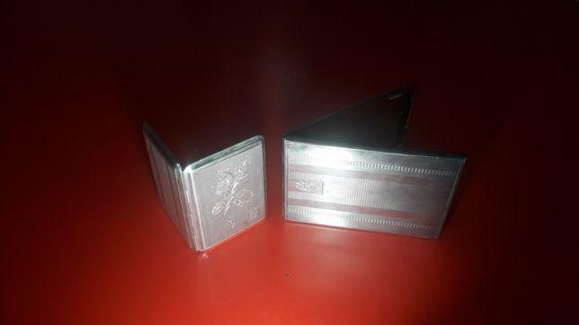 Set 2 tabachere din argint 925 antice soț/soție