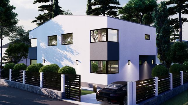 Teren cu autorizatie Casa/ Duplex 750 mp gradina, floresti - tauti