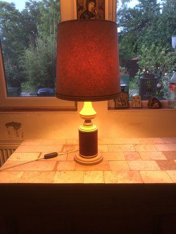 Lampa vintage cu abajur