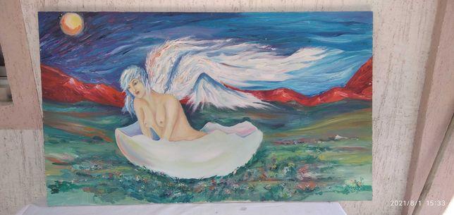 Картина.  Рождение ангела.
