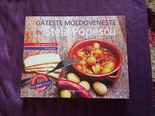 Carte de retete - gateste moldoveneste cu Stela Popescu - 320 pagini