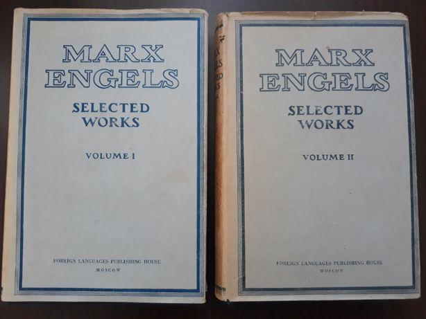 Carte-engleza cart/hardcov, Marx. Engels-Selected Works, Vol. I & II