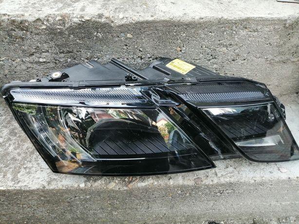 Far dreapta Skoda Octavia 3 facelift.