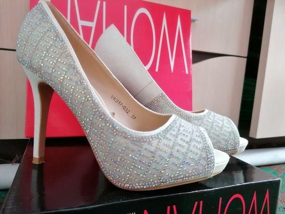 Официални дамски обувки на висок ток (TendenZ)