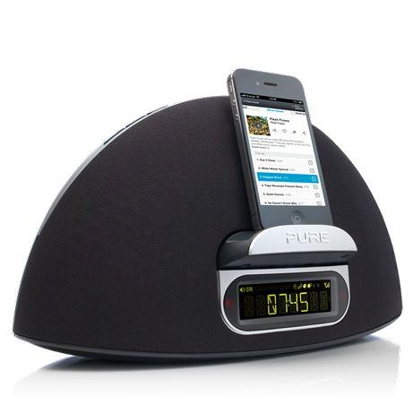 Docking Station Apple Contour 100di functie radio si ceas deșteptător