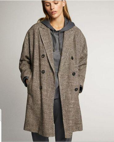 Пальто massimo dutti новое