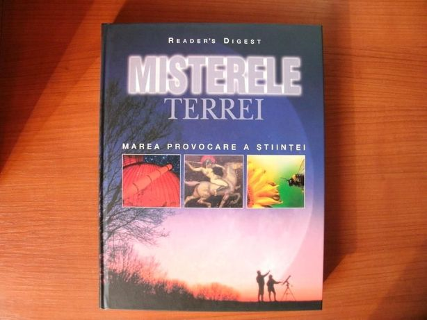 Misterele Terrei editura Readers Digest