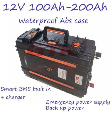 UPS Литиево-йонна батерия, акумулатор 12V 200ah