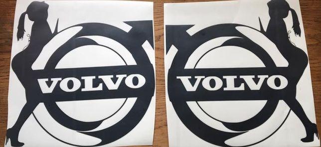 Sticker/Autocolante Volvo Girl