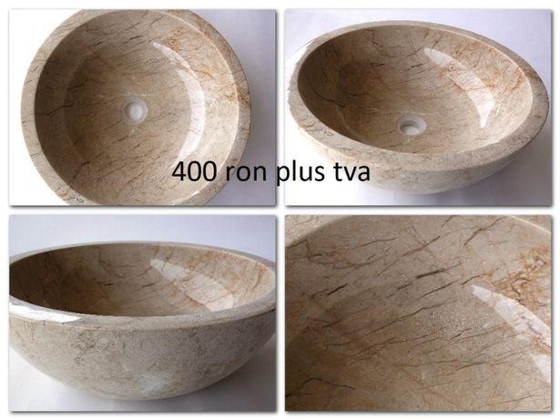 Lavoar ( chiuveta ) din marmura şi traverin Chiuvete piatra naturala