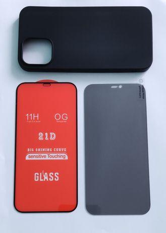 Husa / folie sticla iphone 5 6 7 plus 8 x xs 11 xr 12 pro max mini