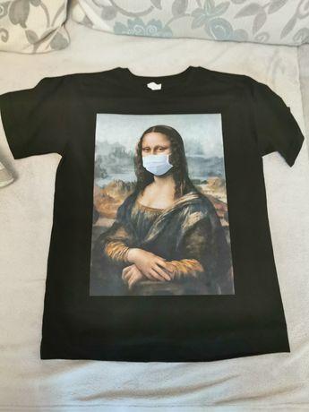 Tricou personalizat Monalisa Mask Meme