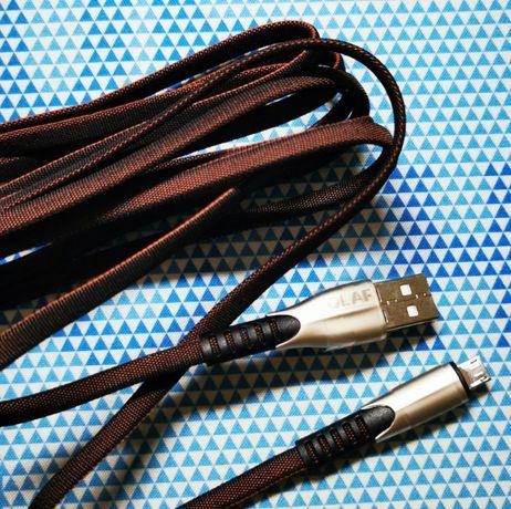 Cablu incarcare  5A incarcare rapida Mufe metalice foarte rezistent