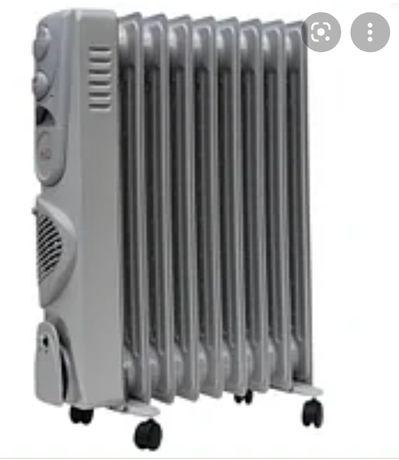 Продам масляный радиатор с вентилятором