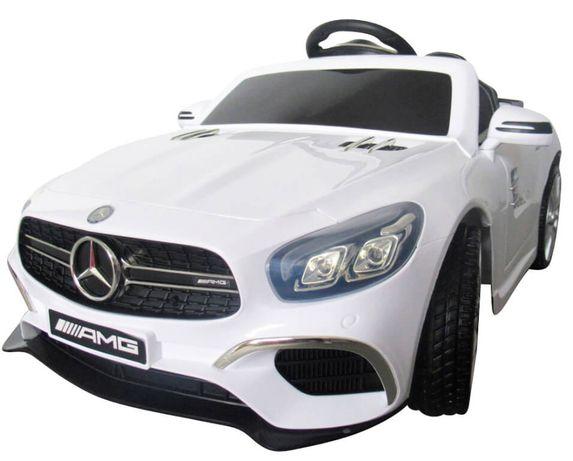 Masinuta electrica pentru copii Mercedes AMG SL63 (A006) Alb