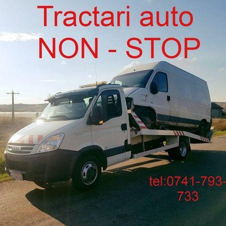 Tractari Auto Platforma NON-STOP