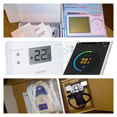 Termostate Centrala R3/SalusWi-Fi/Electrovana senzor nou Montaj inclus