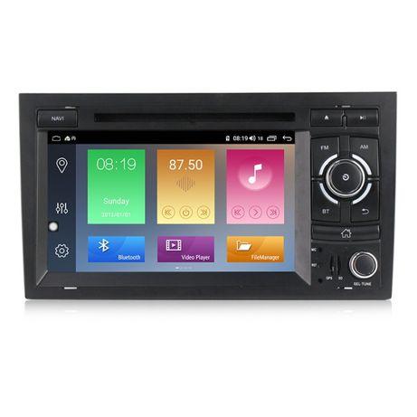 "GPS 7""HD+DVDROM pentru Audi A4, 2GbRam+32GbFlash+BT+NET iGO Primo+WAZE"