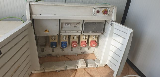 Panouri electrice organizare santier