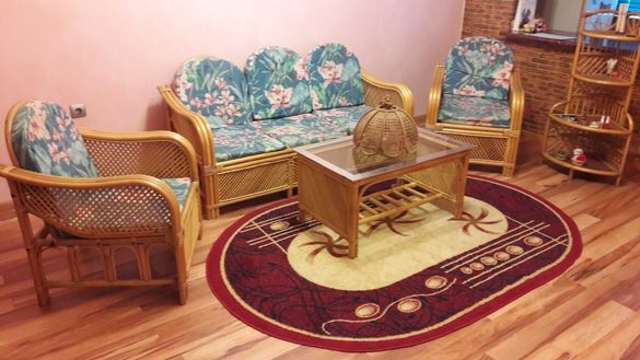 Екзотична Мебел Естествен Ратан (Индонезия) - комплект 6 елемента