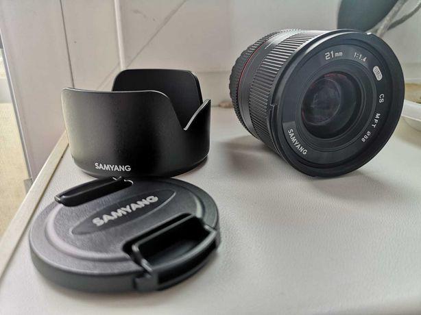 Obiectiv foto video Samyang 21mm f/1.4 MFT MIRRORLESS
