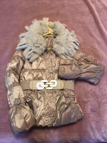 Дамско яке с яка от заешка естествена кожа-S размер гр. Стара Загора - image 1