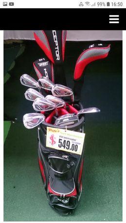 Set 14 crose golf INTERCEPTOR + geanta