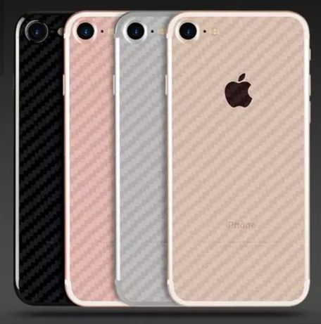 Folie carbon spate iPhone 5/6/7/8/X/XR/XS Max 11 11 Pro Pro Max 8 plus