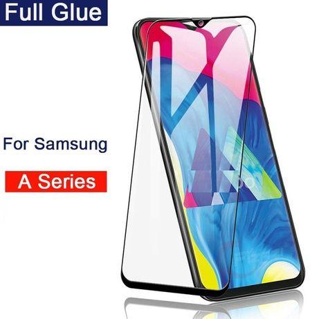 Samsung A10 A20E A30S A40 A50 A70 A80 Folie Sticla Full Curbata 11D