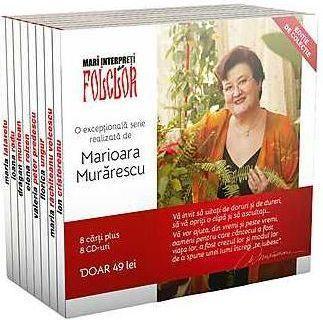 Mari interpreti de folclor (6 CD-uri+6 carti) realizat de M Murarescu