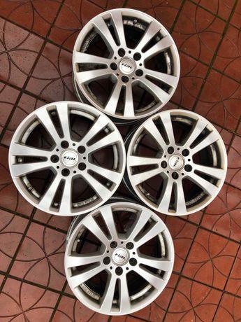 4 jante 16 inch Rial pentru MERCEDES 5*112 cu senzori Audi, Volkswagen