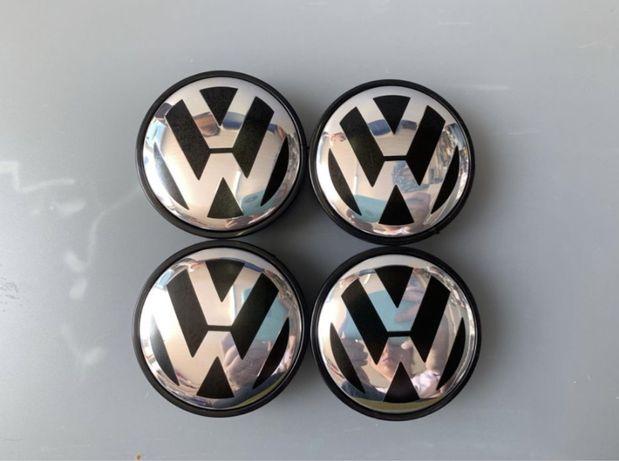 Set 4 capace originale jante aliaj VW Golf Jetta Touran Passat Touareg