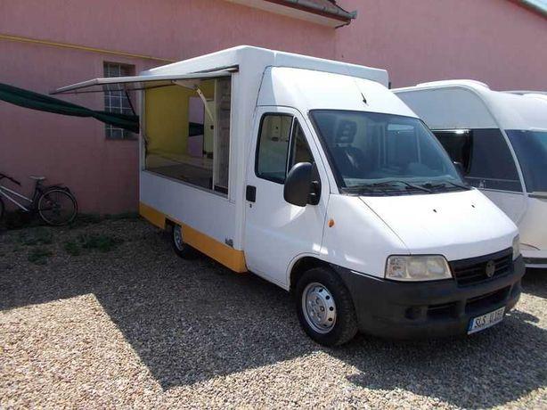 Rulota Truck food Fast Food Fiat Ducato dn Germania