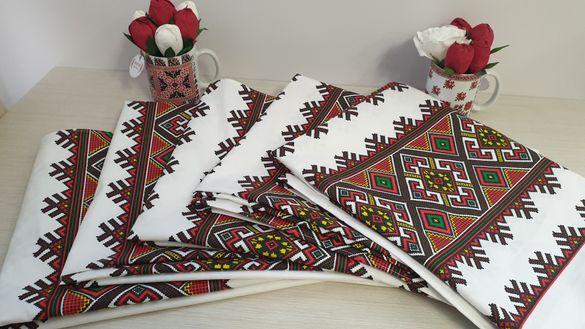 Покривка с българска шевица