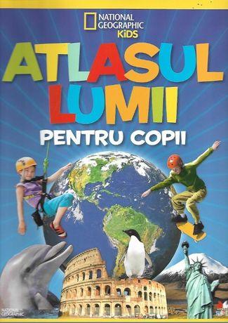 Atlasul lumii pentru copii. National Geographic Kids