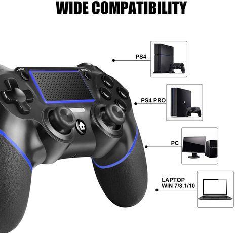 Nou, Controller Wireless PC Windows PS4/Pro/Slim Dualshock 4