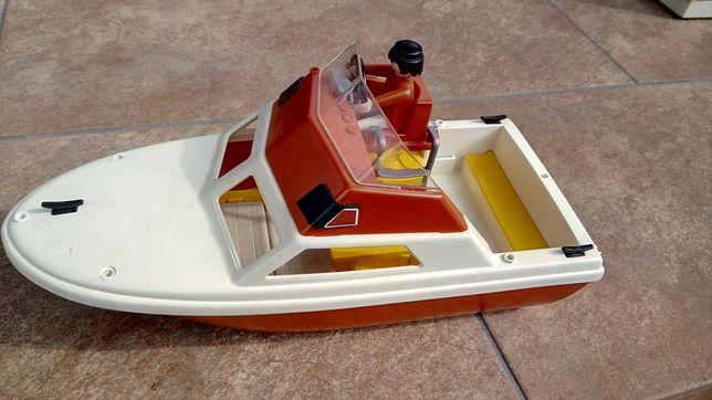Playmobil Geobra 1984, barcuta cu figurina