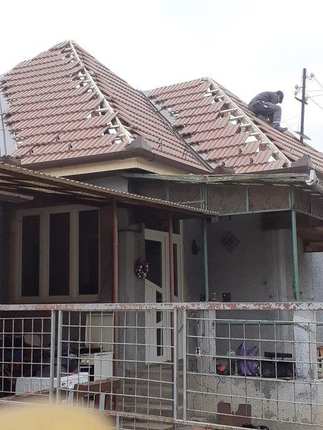 Montaj acoperișuri tigla ceramica tondach ,creaton  si dulgherie