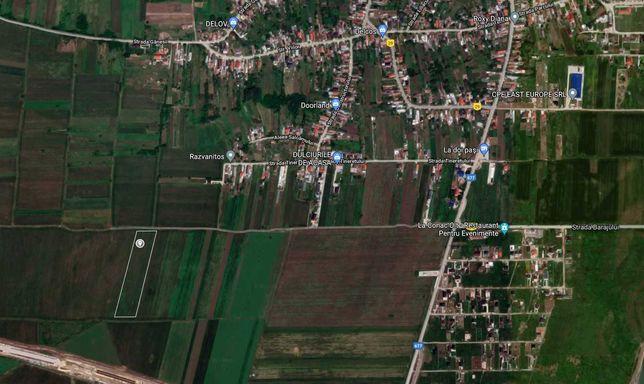 OFER Teren extravilan 6855 mp Slătioara OLT lângă DE Craiova Pitești