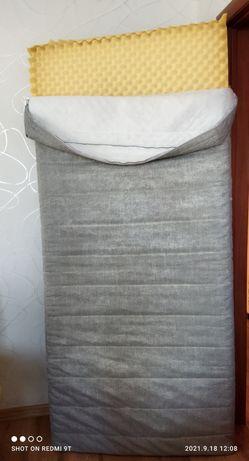 Матрас 90/200 Пенополиуретановый без пружин.